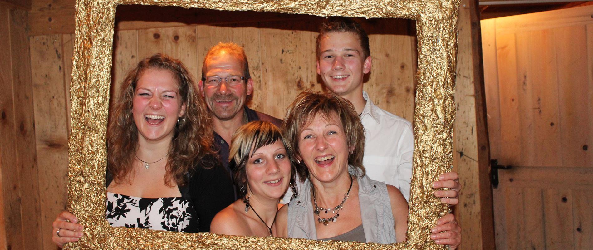 Die Gastgeberfamilie vom Lippenhof