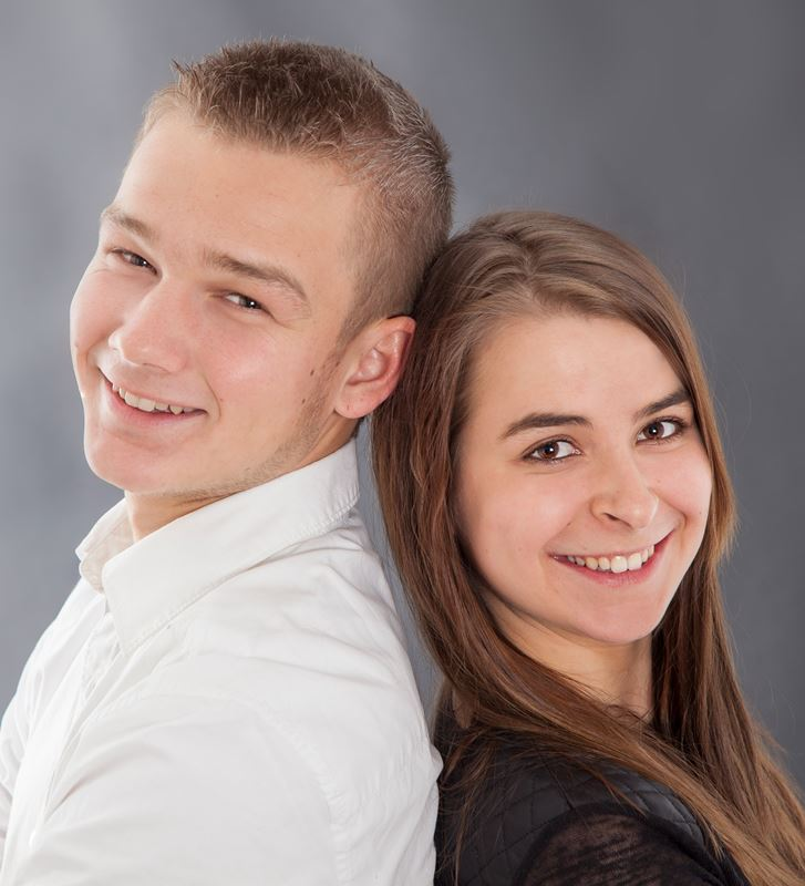 Christian Kleiser mit Sarah