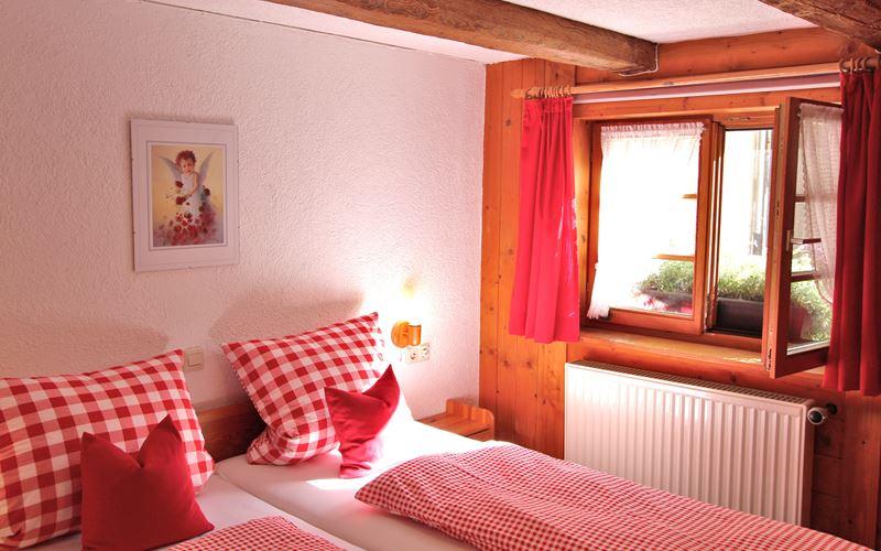 Schlafzimmer Ferienwohnung Lippenhof