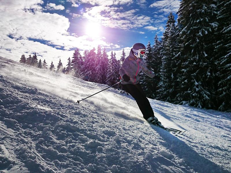 Ski fahren im Schwarzwald