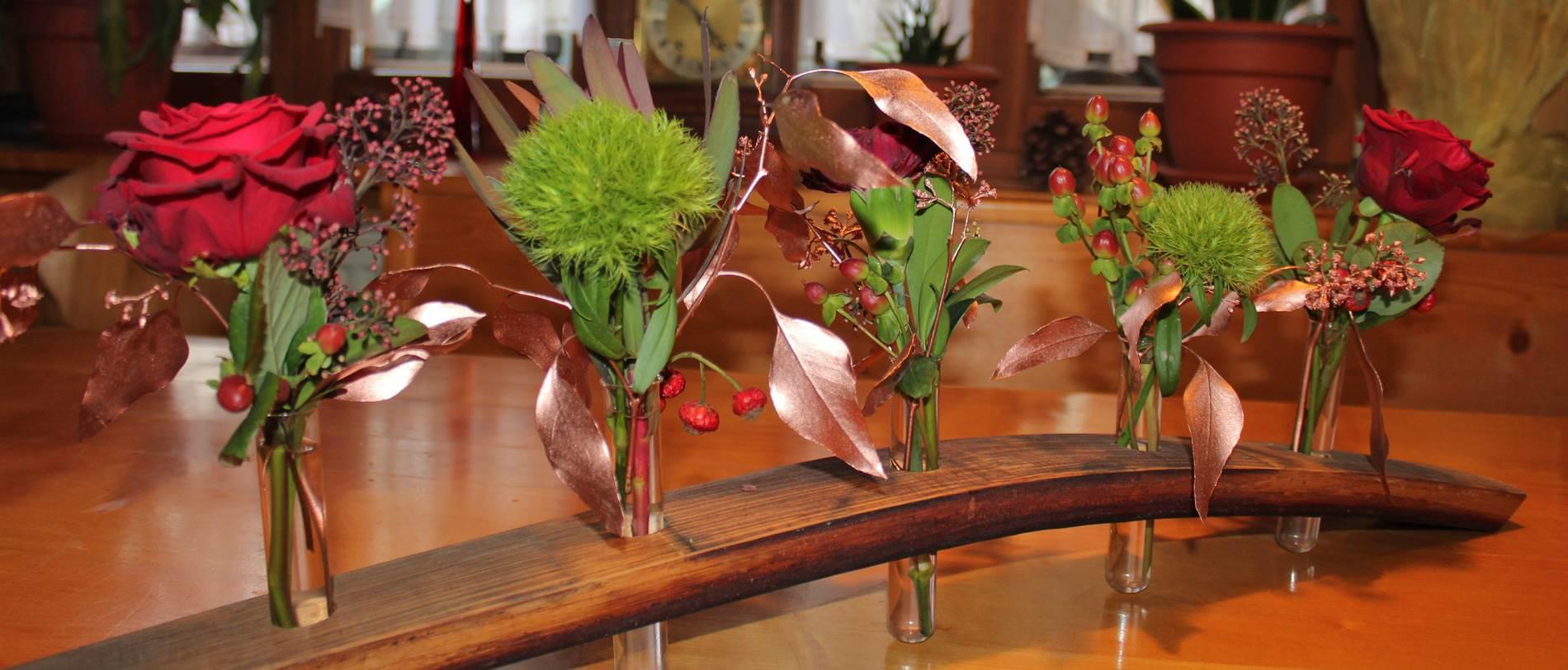 Tischdeko Ferienwohnung Lippenhof